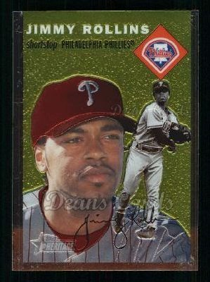 2003 Topps Heritage Chrome #36  Jimmy Rollins