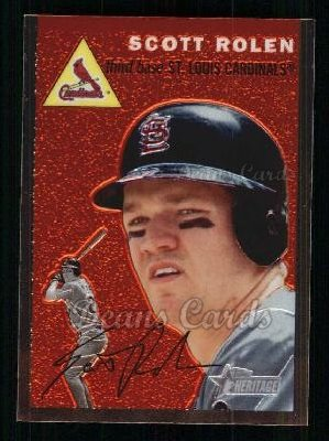 2003 Topps Heritage Chrome #38  Scott Rolen