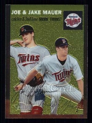 2003 Topps Heritage Chrome #43  Mauer Brothers