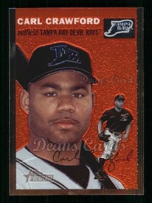 2003 Topps Heritage Chrome #46  Carl Crawford