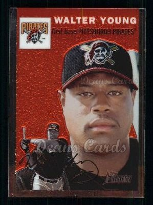 2003 Topps Heritage Chrome #57  Walter Young