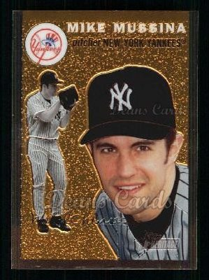 2003 Topps Heritage Chrome #74  Mike Mussina