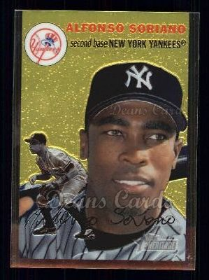 2003 Topps Heritage Chrome #83  Alfonso Soriano