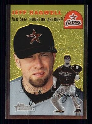 2003 Topps Heritage Chrome #87  Jeff Bagwell