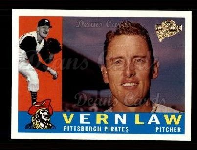 2003 Topps All-Time Fan Favorite #102  Vern Law
