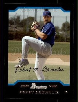 2004 Bowman #167   -  Bobby Brownlie First Year