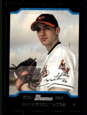 2004 Bowman #231   -  Dave Crouthers First Year