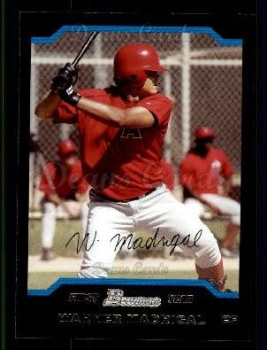 2004 Bowman #307   -  Warner Madrigal First Year