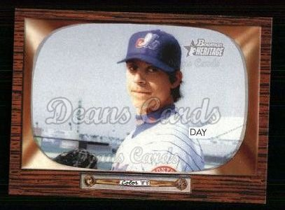 2004 Bowman Heritage #105  Zach Day