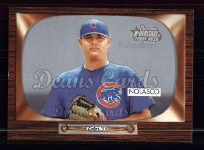 2004 Bowman Heritage #307   -  Nick Gorneault First Year