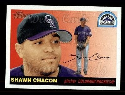 2004 Topps Heritage #256  Shawn Chacon