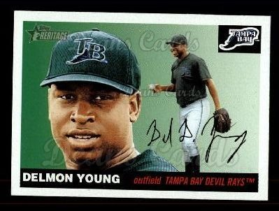 2004 Topps Heritage #279  Delmon Young