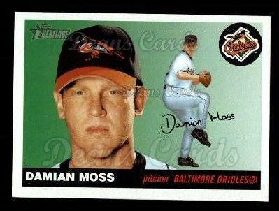 2004 Topps Heritage #405  Damian Moss
