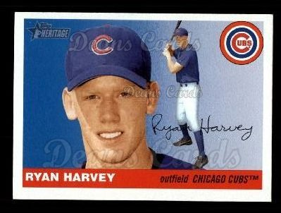 2004 Topps Heritage #411  Ryan Harvey