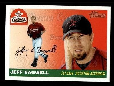 2004 Topps Heritage #445  Jeff Bagwell