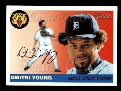 2004 Topps Heritage #8 OLD Dmitri Young
