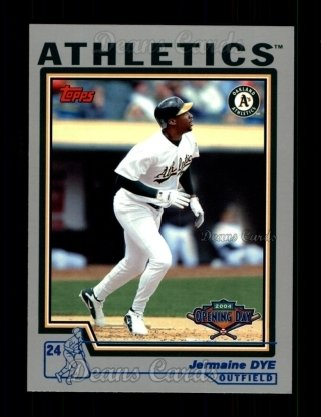 2004 Topps Opening Day #150  Jermaine Dye
