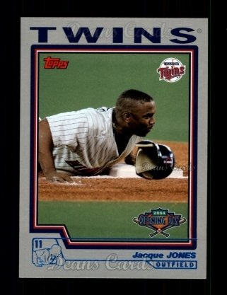 2004 Topps Opening Day #31  Jacque Jones