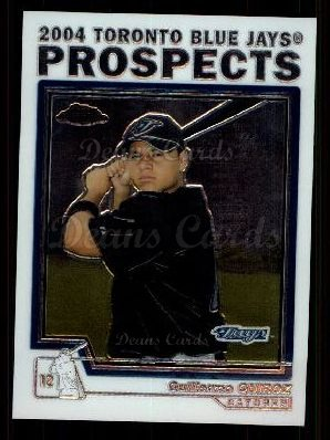 2004 Topps Chrome Traded #102 T  -  Guillermo Quiroz Prospect