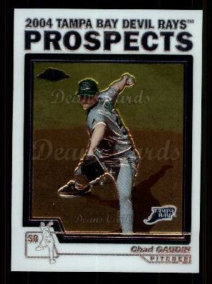 2004 Topps Chrome Traded #106 T  -  Chad Gaudin Prospect