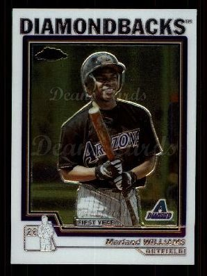 2004 Topps Chrome Traded #132 T  -  Marland Williams First Year