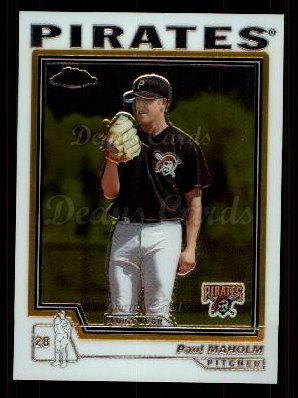 2004 Topps Chrome Traded #137 T  -  Paul Maholm First Year