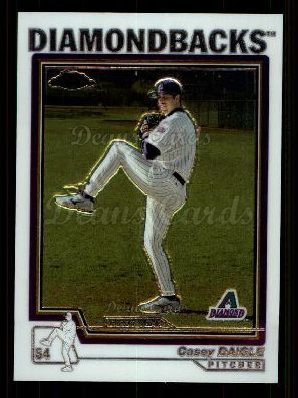 2004 Topps Chrome Traded #139 T  -  Casey Daigle First Year