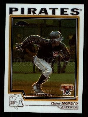 2004 Topps Chrome Traded #140 T  -  Nyjer Morgan First Year