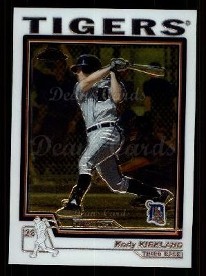 2004 Topps Chrome Traded #142 T  -  Kody Kirkland First Year
