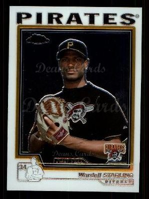 2004 Topps Chrome Traded #162 T  -  Wardell Starling First Year