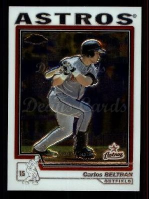 2004 Topps Chrome Traded #17 T Carlos Beltran