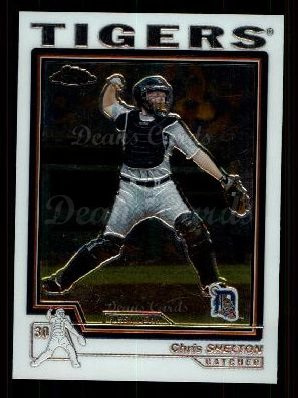 2004 Topps Chrome Traded #170 T  -  Chris Shelton First Year