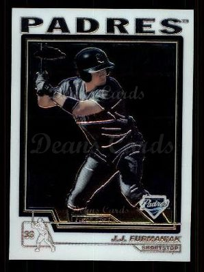 2004 Topps Chrome Traded #178 T  -  J.J. Furmaniak First Year