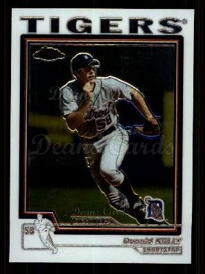 2004 Topps Chrome Traded #180 T  -  Donald Kelly First Year