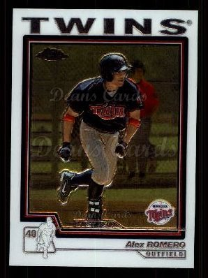 2004 Topps Chrome Traded #188 T  -  Alex Romero First Year