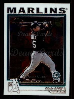 2004 Topps Chrome Traded #192 T  -  Chris Aguila First Year