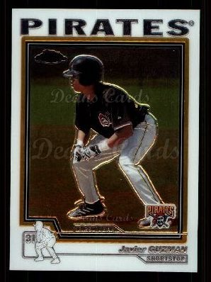 2004 Topps Chrome Traded #196 T  -  Javier Guzman First Year