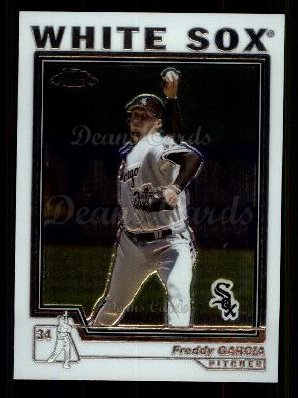 2004 Topps Chrome Traded #29 T Freddy Garcia