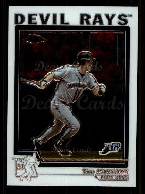 2004 Topps Chrome Traded #37 T Tino Martinez