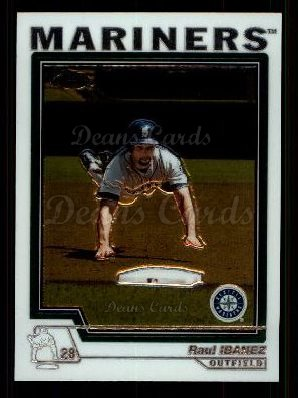 2004 Topps Chrome Traded #42 T Raul Ibanez