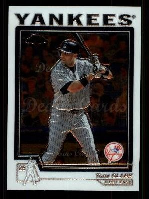 2004 Topps Chrome Traded #44 T Tony Clark