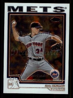 2004 Topps Chrome Traded #49 T Kris Benson