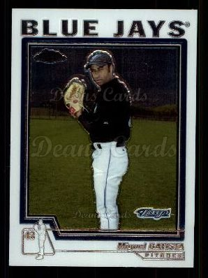 2004 Topps Chrome Traded #65 T Miguel Batista