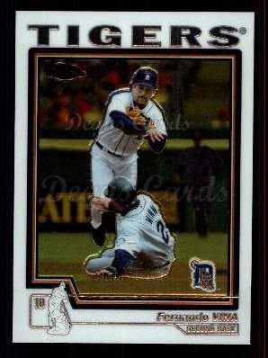 2004 Topps Chrome Traded #9 T Fernando Vina