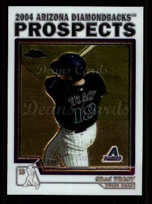 2004 Topps Chrome Traded #91 T  -  Chad Tracy Prospect