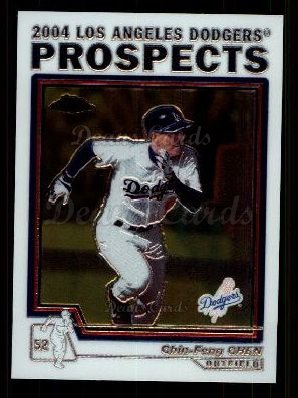2004 Topps Chrome Traded #94 T  -  Chin-Feng Chen Prospect