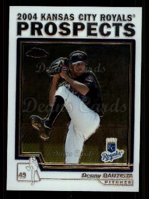 2004 Topps Chrome Traded #98 T  -  Denny Bautista Prospect