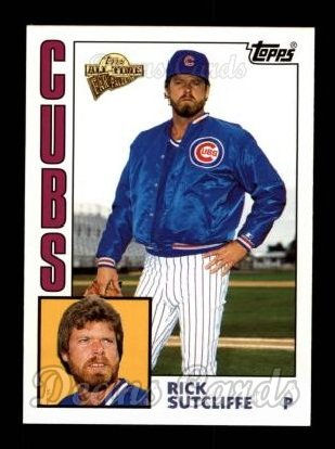 2004 Topps All-Time Fan Favorites #104  Rick Sutcliffe