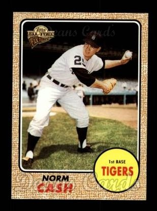 2004 Topps All-Time Fan Favorites #106  Norm Cash