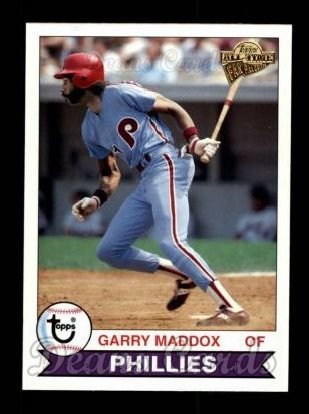 2004 Topps All-Time Fan Favorites #11  Garry Maddox